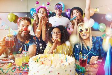 Sluitzegels Verjaardag/Feest