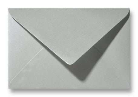 Envelop 12 x 18 cm Metallic Platinum