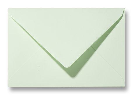 Envelop 12 x 18 cm Lichtgroen