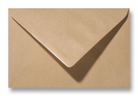Envelop 12,5 x 17,6 cm (B6) Kraft Lichtbruin