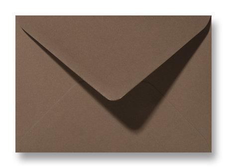 Envelop 12 x 18 cm Mooi Bruin