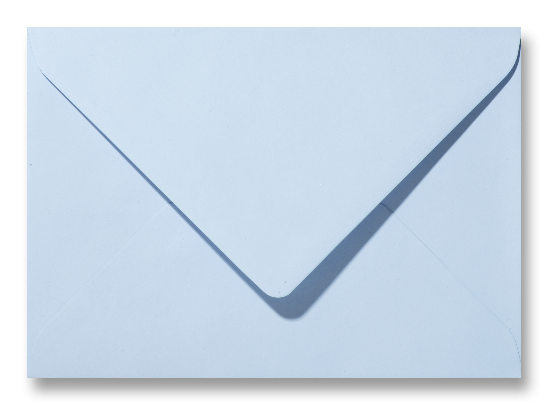 Envelop 12 x 18 cm Lichtblauw