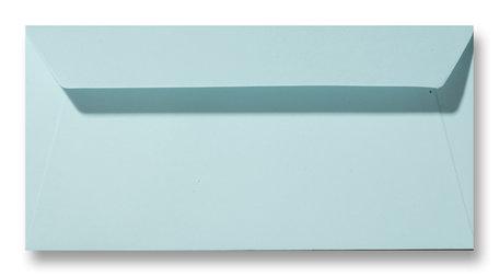 Envelop 11 x 22 cm Laguneblauw