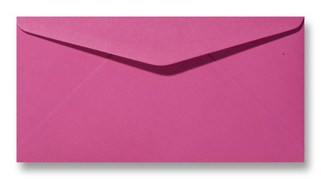Envelop 11 x 22 cm Fiore Cyclaam