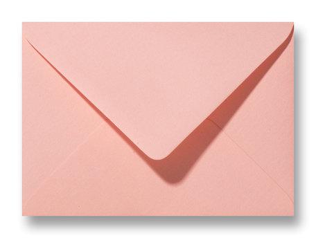 Envelop 11 x 15,6 cm Luxe Zalmroze