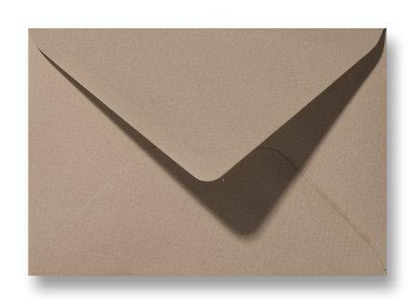 Envelop 11 x 15,6 cm Vintage Zandbruin