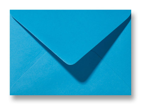 Envelop 11,4 x 16,2 cm Koningsblauw