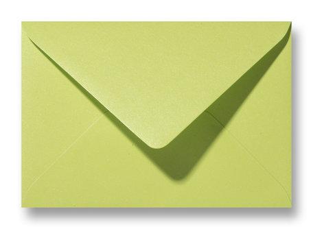 Envelop 11 x 15,6 cm Bittergroen