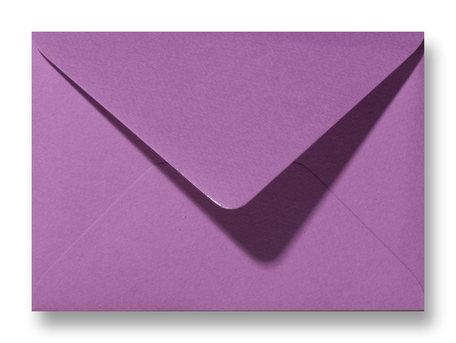 Envelop 11 x 15,6 cm Fiore Paars