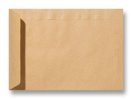 Envelop 11,4 x 16,2 cm Kraft Lichtbruin