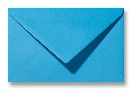 Envelop 12 x 18,5 cm Koningsblauw