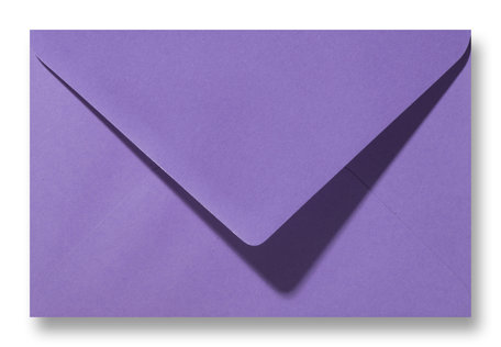 Envelop 12 x 18,5 cm Paars