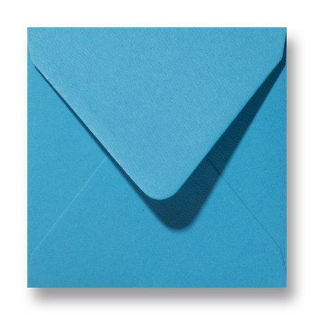 Envelop 12 x 12 cm Fiore Blauw