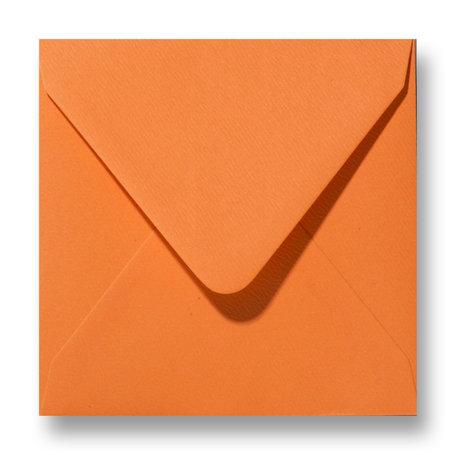 Envelop 12 x 12 cm Fiore Oranje