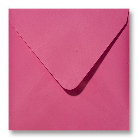 Envelop 14 x 14 cm Fuchsia
