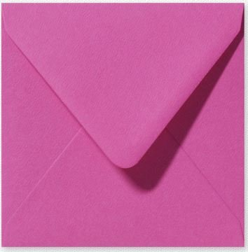 Envelop 14 x 14 cm Fiore Cyclaam