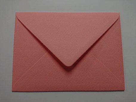 Envelop 13 x 18 cm Luxe Zalmroze