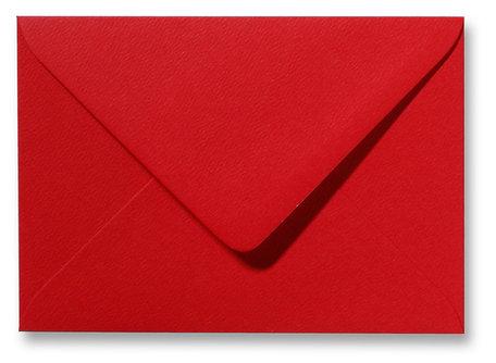 Envelop 12 x 18 cm Fiore Rood