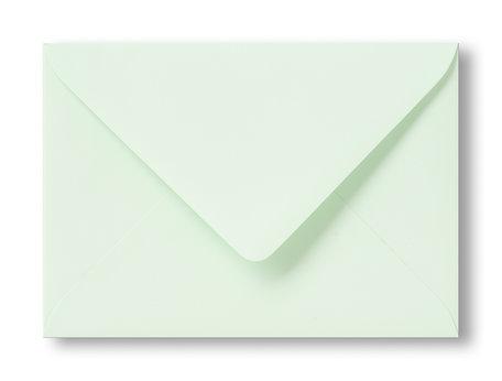 Envelop 11 x 15,6 cm Kopergroen