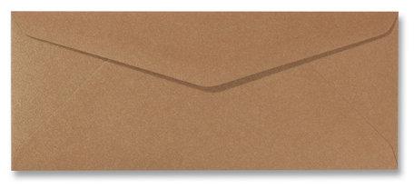 Envelop 9 x 22 cm Metallic Bronze