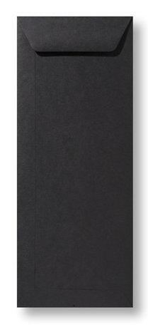 Envelop 12,5 x 31,2 cm Zwart