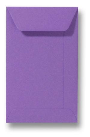 Envelop 6,5 x 10,5 cm paars