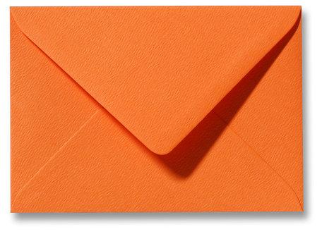 Envelop 9 x 14 cm Fiore Oranje