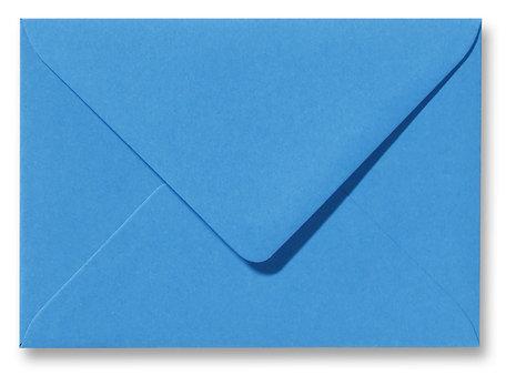 Envelop 9 x 14 cm Fiore Blauw