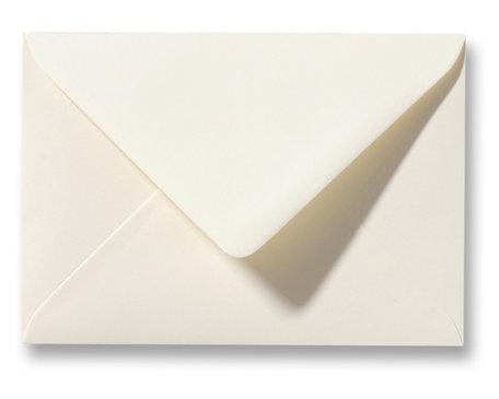 Envelop 12,5 x 17,6 cm wit