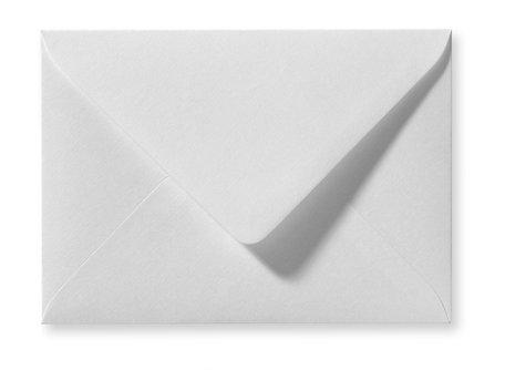 Envelop 15,6 x 22 cm Wit Linnen