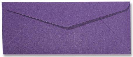 Envelop 9 x 22 cm Metallic Purple