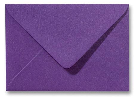 Envelop 12 x 18 cm Metallic Purple