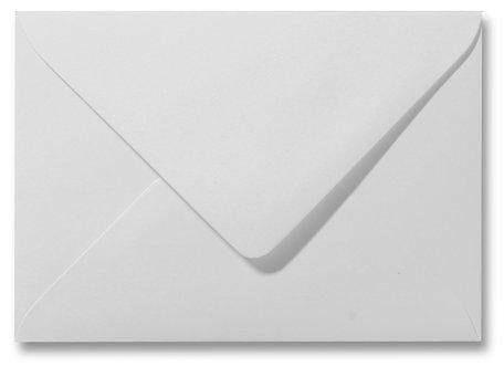 Envelop 13 x 18 cm Metallic White