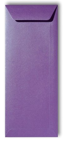 Envelop 12,5 x 31,2 cm Metallic Purple