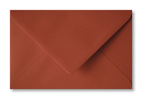 Envelop 12 x 18,5 cm Rood