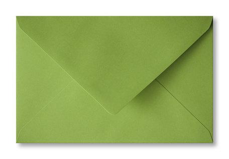 Envelop 12 x 18,5 cm Limoengroen