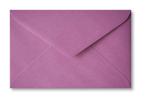 Envelop 12 x 18,5 cm Cyclaam