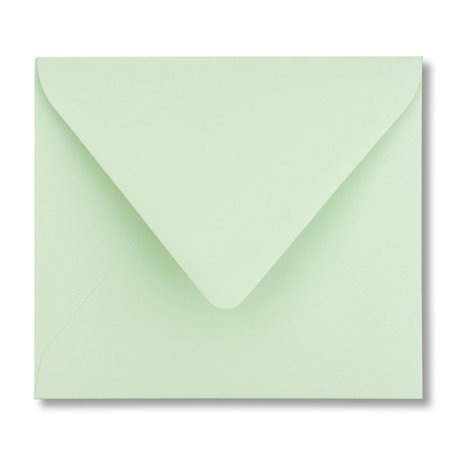 Envelop 12,5 x 14 cm Lentegroen