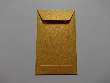 Envelop 6,5 x 10,5 cm Super Gold
