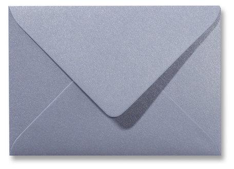 Envelop 15,6 x 22 cm Metallic Zilver