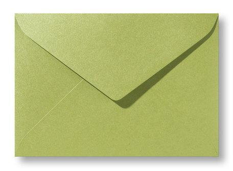 Envelop 15,6 x 22 cm Metallic Olive