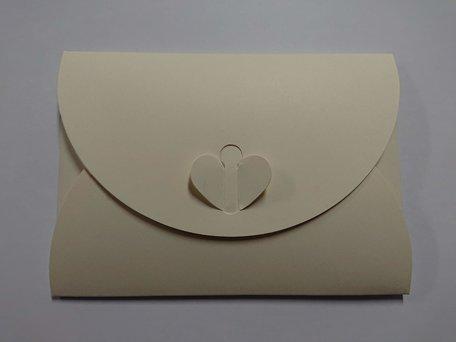 Cadeau Envelop 11 x 15,6 cm Ivoor