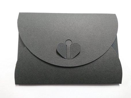 Cadeau Envelop 11 x 15,6 cm Zwart