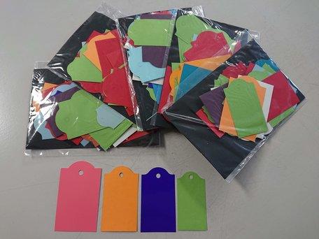 Multicolour (Cadeau)Labels 5 sets