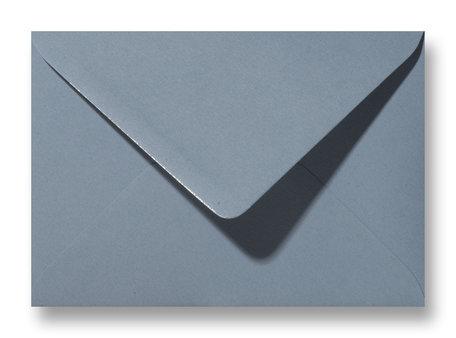 Envelop 15,6 x 22 cm Structuur Blauwgrijs