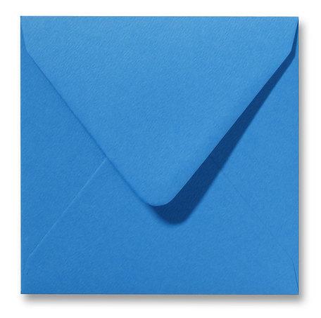Envelop 16 x 16 cm Fiore Blauw