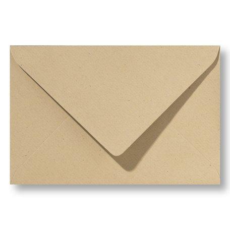 Envelop 13 x 18 cm Kraft Bruin
