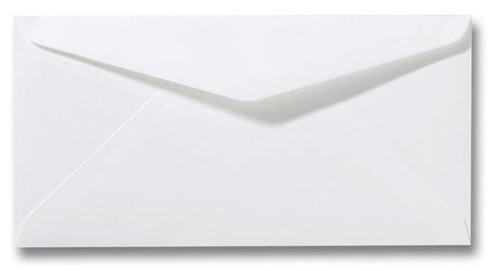 Envelop 11 x 22 cm Gebroken Wit