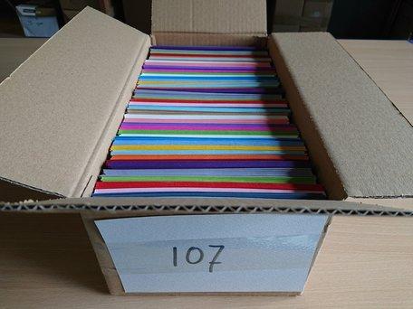 Doos vol met Enveloppen 12 x 18 cm