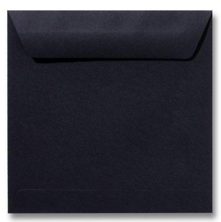 Envelop 22 x 22 cm Zwart